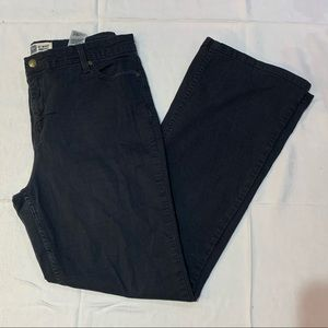 Signature by Levi At Waist Bootcut Black Jeans- 16